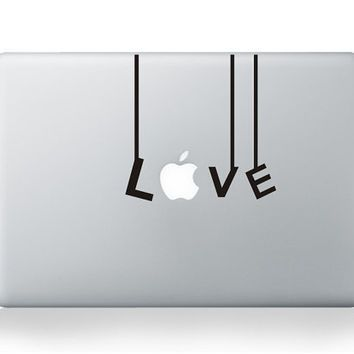 Love Mac Decal Mac Sticker Macbook Decals Macbook Stickers - Vinyl decals for macbook