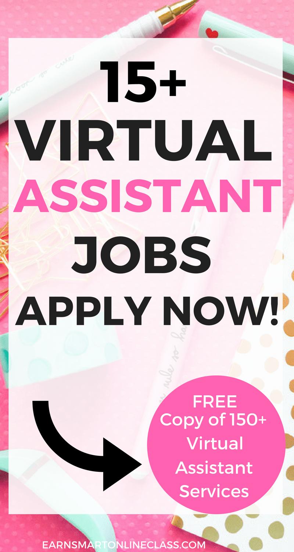 Virtual Assistant Jobs 15 Legit Companies Hiring Virtual Assistant Jobs Assistant Jobs Virtual Assistant