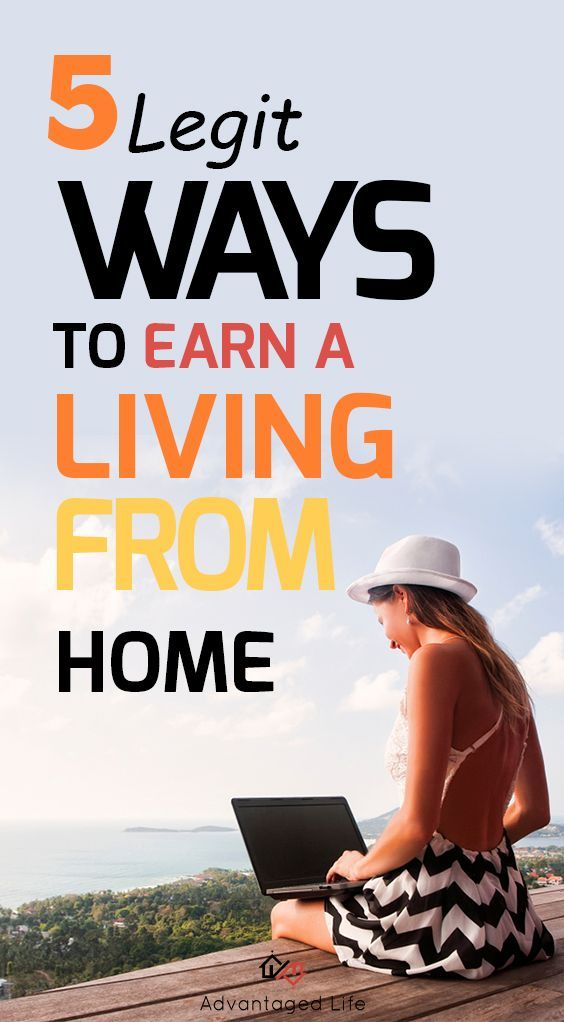 5 Ways To Earn A Living Without Leaving The House