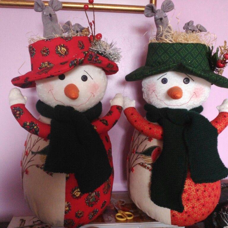 Mis muñecos de Navidad!