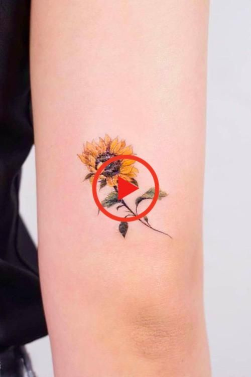 Hair Small Minimalist Sunflower Tattoo Idea #smalltattoo #minimalisttattoo ★ A lot of beautiful designs for women. Here you will find not only simple, minimalistic or small watercolor sunflower tattoo ideas, but also more complicated ones with the meaning. #sunflowertattoo #sunflower #floraltattoo #tattooforwomen #glaminati #lifestyle #tattoo