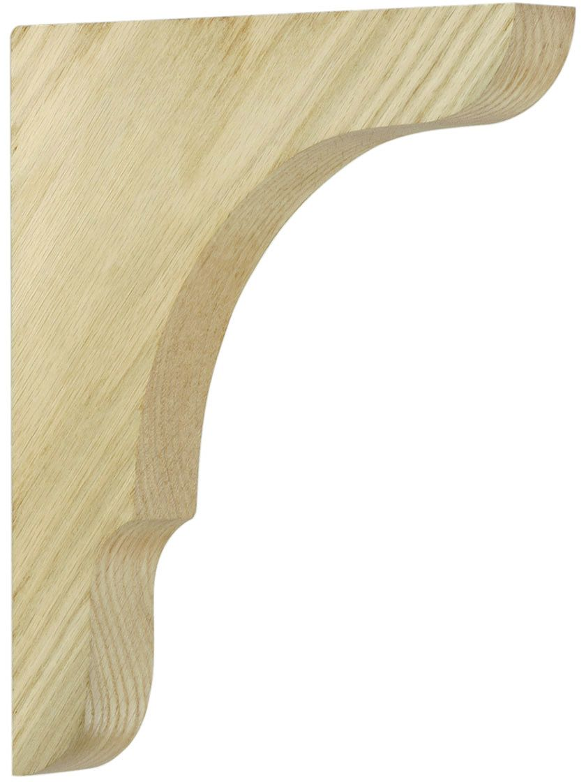Large Oak Shelf Bracket 11\