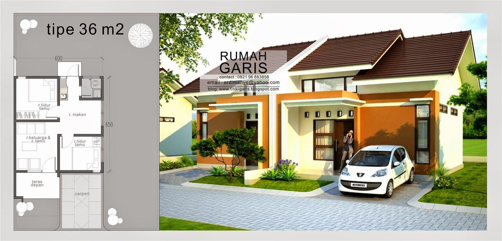 Beragam Desain Rumah Denah Dan Tampak Dari Berbagai Tipe 36 45 54 70 90 Dll Dengan Kualitas Photoreal Rumah Arsitektur Desain Rumah Eksterior Home Fashion