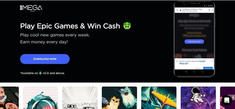 GetMega Referral Code Play Game Earn Free Paytm Cash + Rs