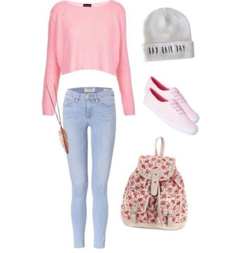 37 Cute Teen Outfit Ideas for School this Winter
