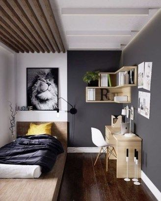 35 Amazing Ideas Decorating Studio Apartment Homiku Com Arredamento Piccola Camera Design Camera Da Letto Piccola Idee Per La Stanza Da Letto Bedroom storage ideas mens