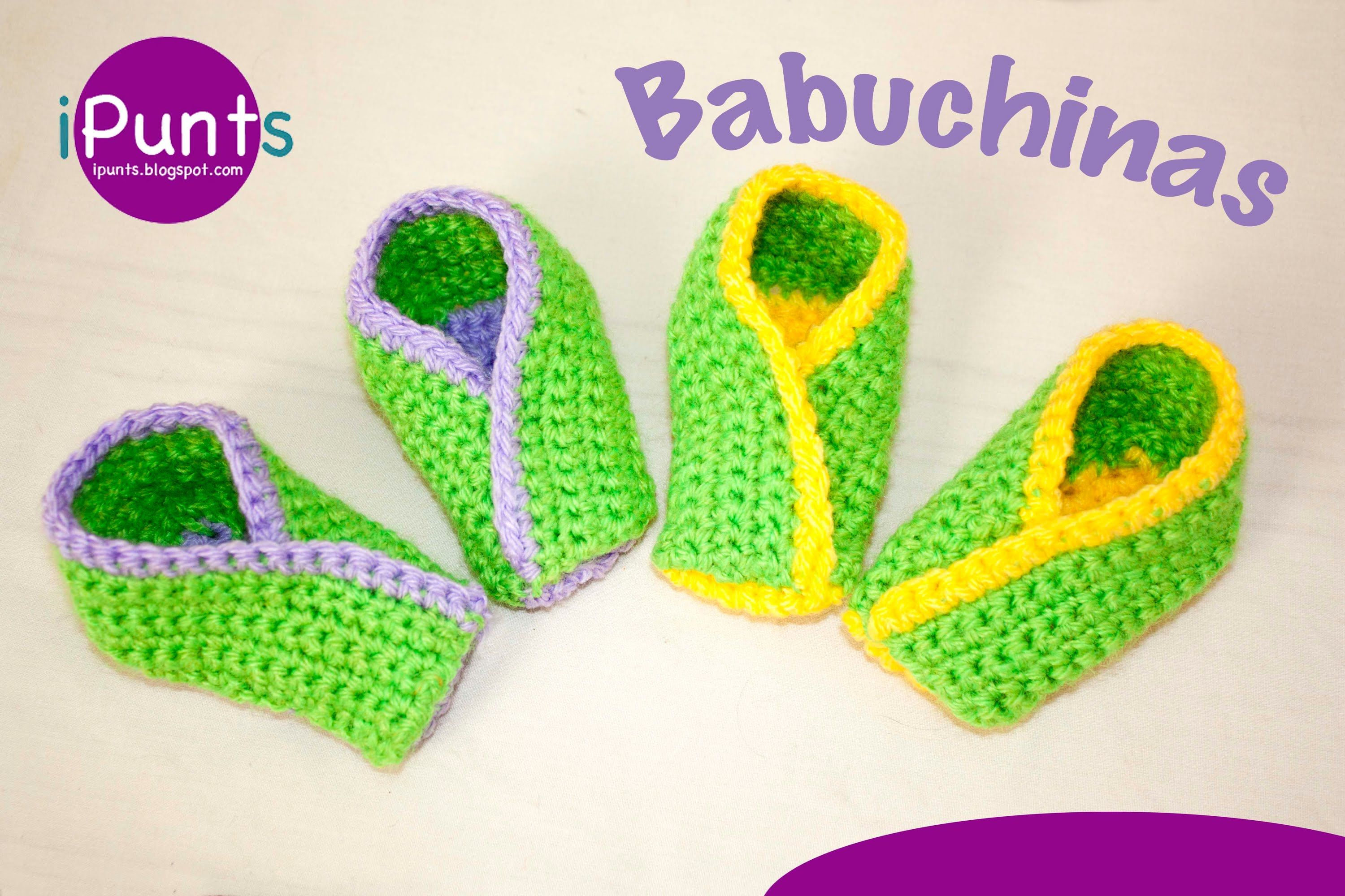 Tutorial Babuchinas: Zapatillas a ganchillo paso a paso | sombrero ...