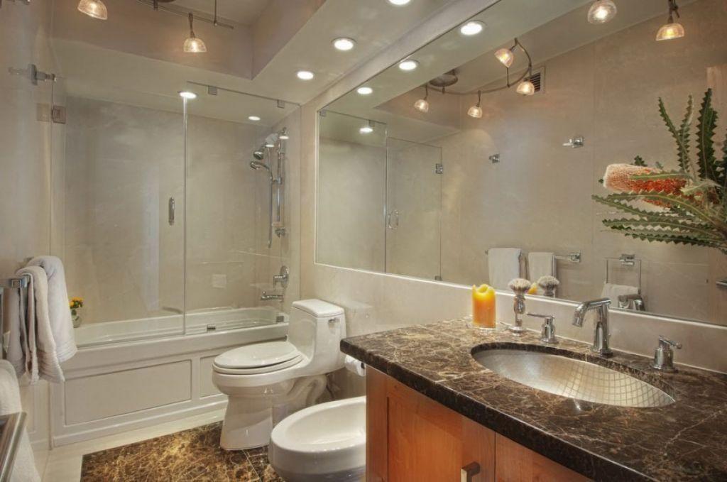 Perfect Lighting With Additional Bathroom Track Lighting Lighting Decorating Ideas Stylish Bathroom Black Bathroom Light Fixtures Black Bathroom Light