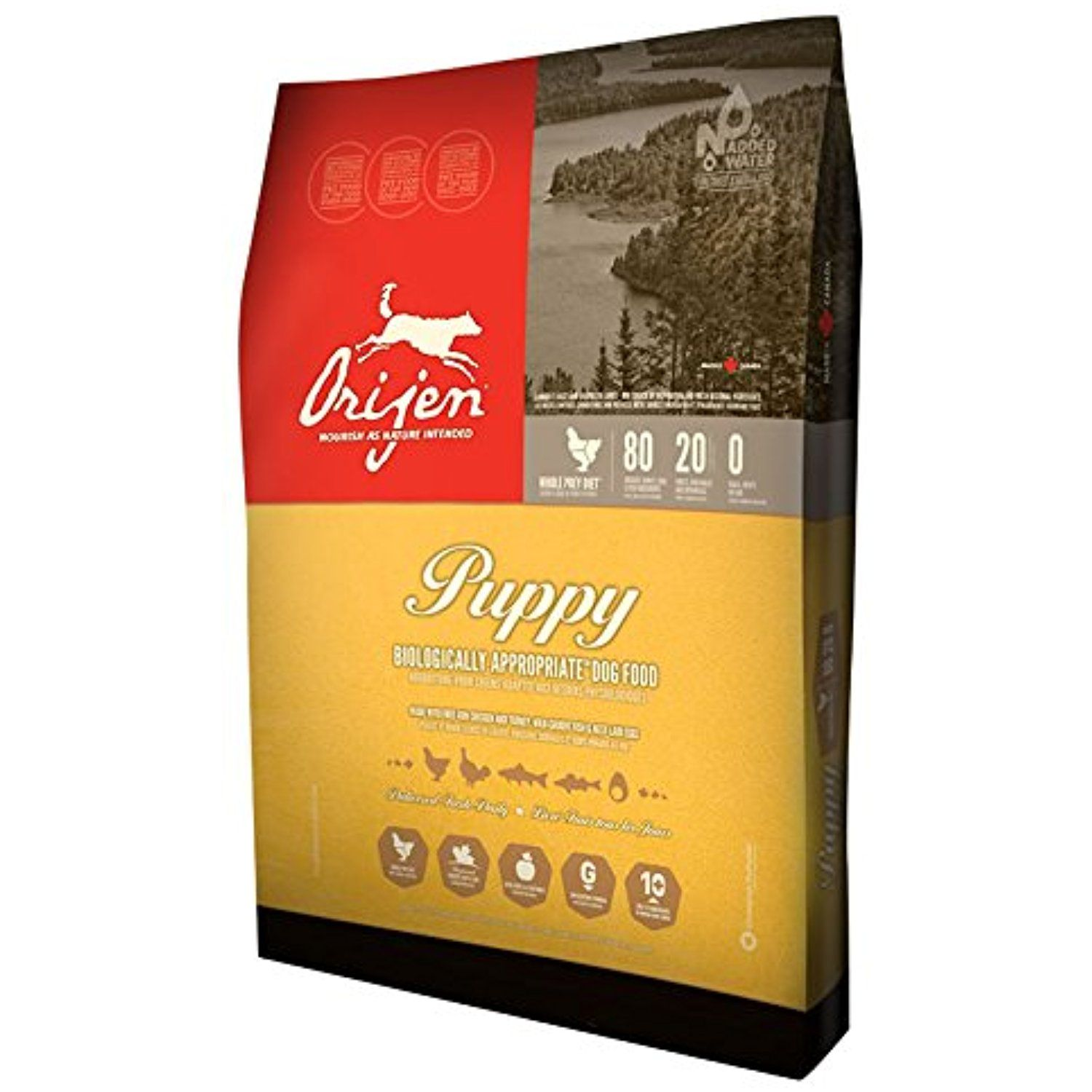 Orijen Puppy Formula Dry Dog Food 28.6lb bag You can