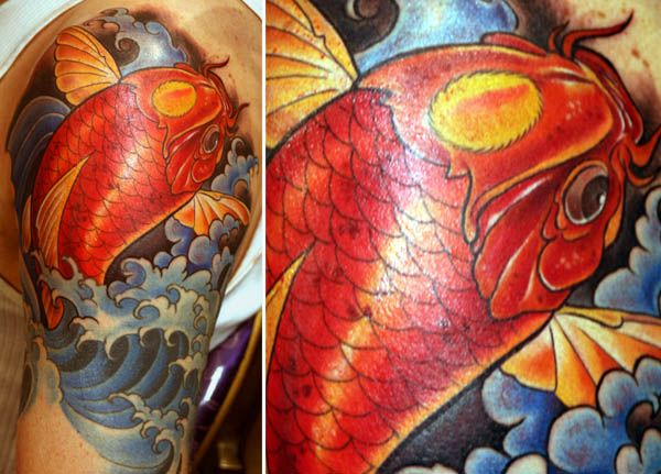 traditional-koi-tattoo | Tats that are cool | Pinterest ...