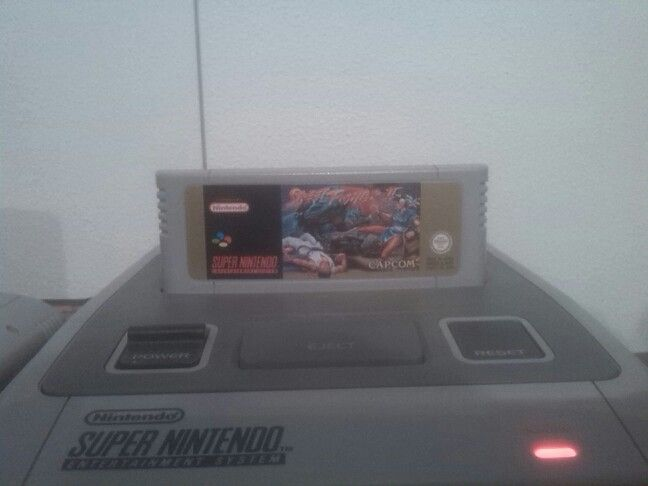 Now playing #StreetFighter 2 #SNES #Capcom #RetroGaming