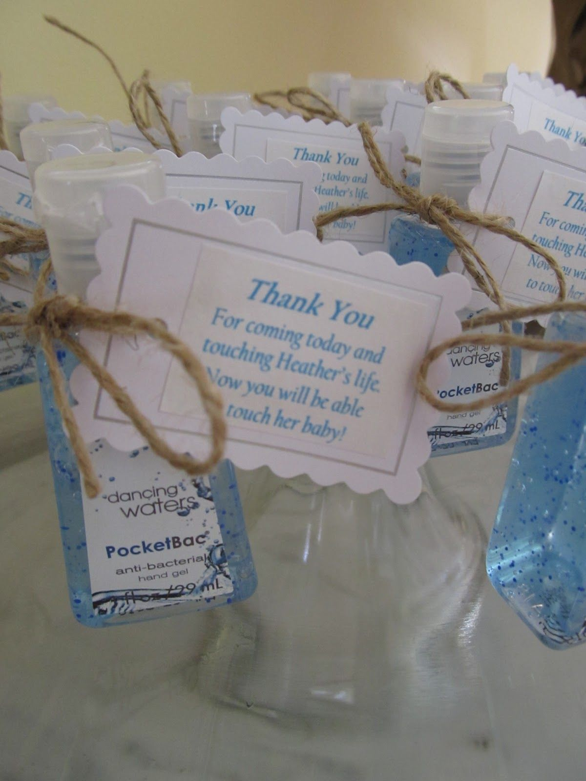 Baby Shower Hand Sanitizer Favors With Images Baby Boy Shower