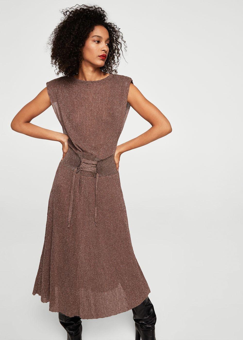 Vestido corsé metalizado Mujer | ♥ I ♥ I ♥ I ♥ I ♥ I