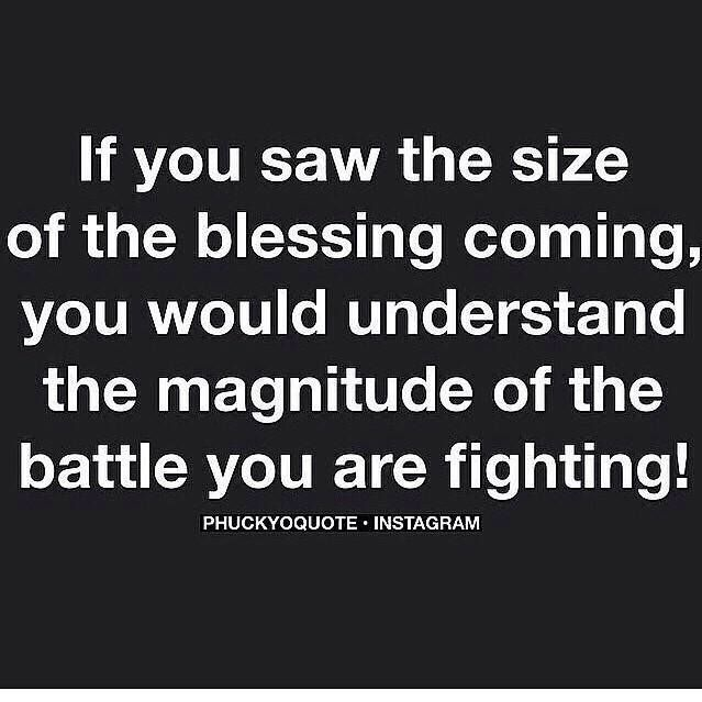 Saw this on Mix and Match Family's blog and had to save it. You never fully realize why you go through hard times but eventually things pan out and there is a blessing waiting in the end. More