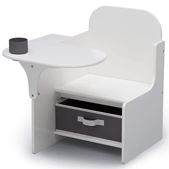 Amazon Com Delta Children Chair Desk With Storage Bin Ideal For Arts Crafts Snack Time Homeschooling Home In 2020 Desk Storage Fabric Storage Bins Storage Bin