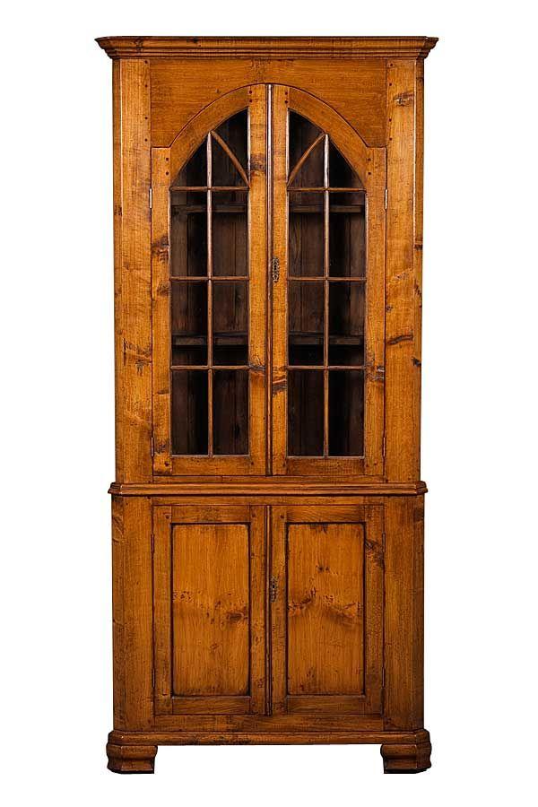 - Antique Cherry Corner Cabinet Cherries, Corner And Built Ins