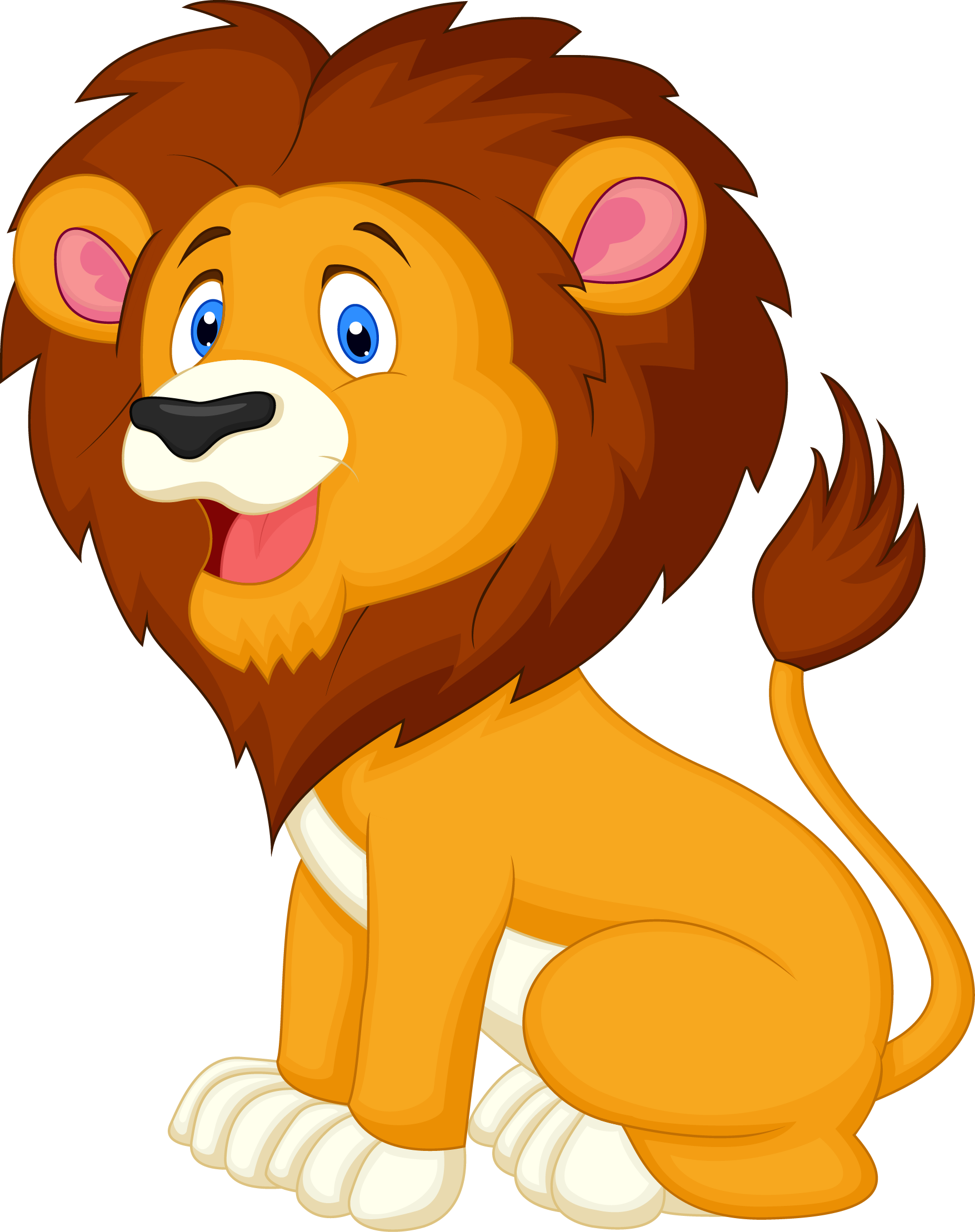 Pin By Karen Miranda On Designs For Baby Lion Cartoon Drawing Cartoon Lion Cute Lion