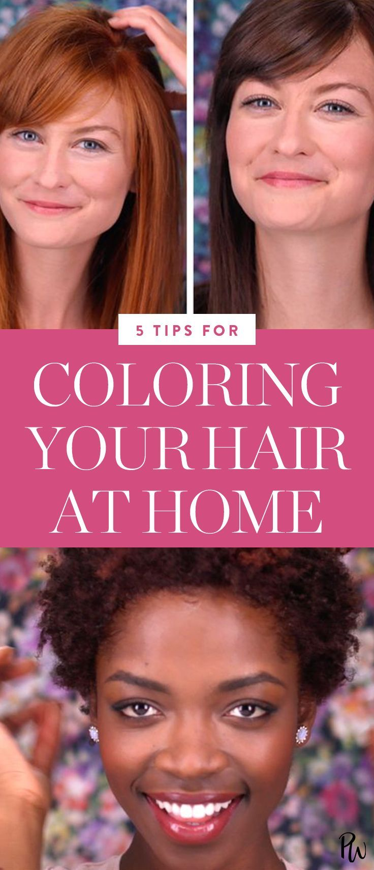 Life Hacks : 5 Things to Know Before Coloring Your Hair at Home ...