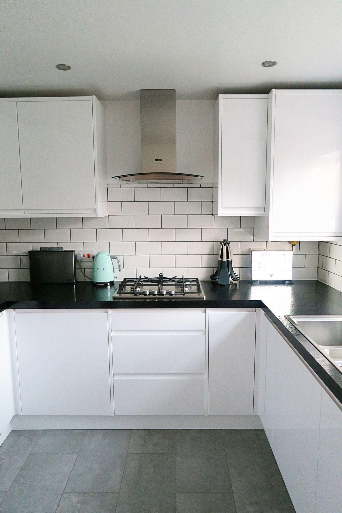 White Gloss Kitchen Splashback Ideas Check more at http ...