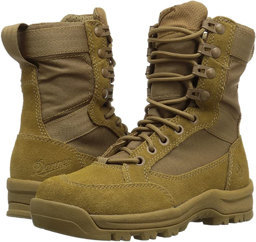 Amazon Com Danner Men S Tanicus 8 Coyote Military Tactical Boot 3 D Us Shoes In 2020 Boots Military Boots Tactical Boots