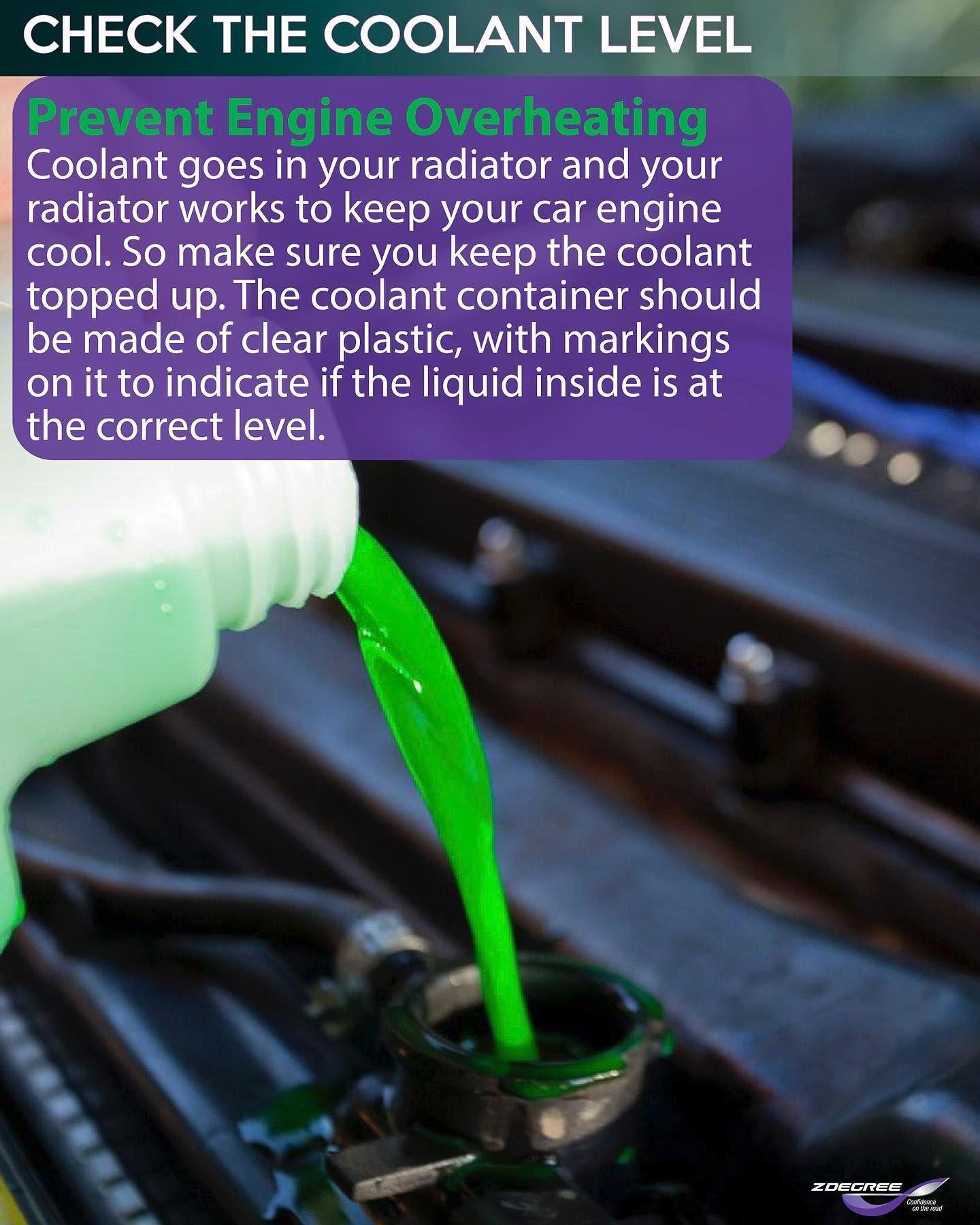 Coolant Check Tyre Shop Car Engine Free Tire