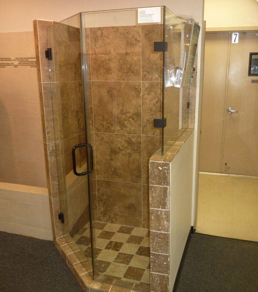 shower doors memphis framed and frameless glass binswanger ...