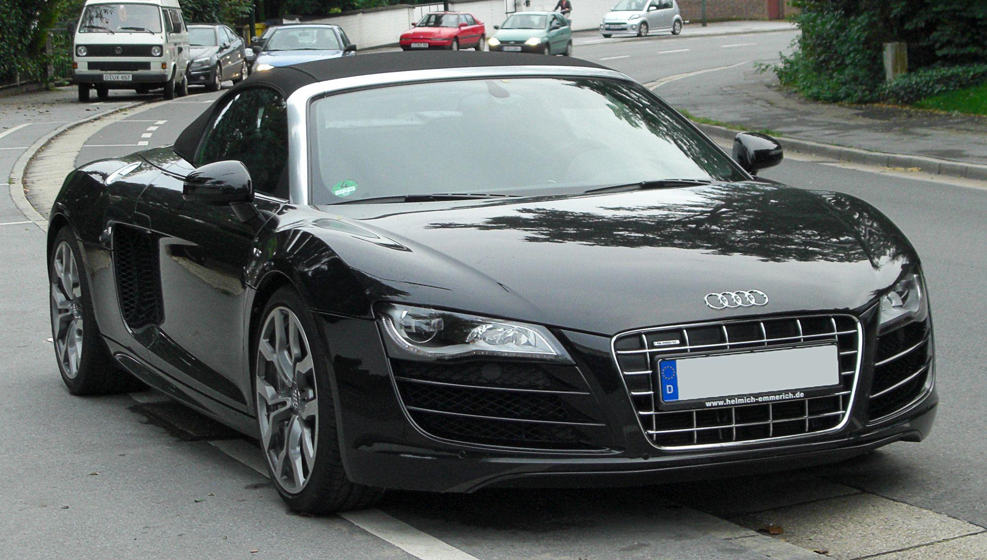 Audi R Spyder Want Pinterest R V Dream Cars And Cars - Audi sports car list