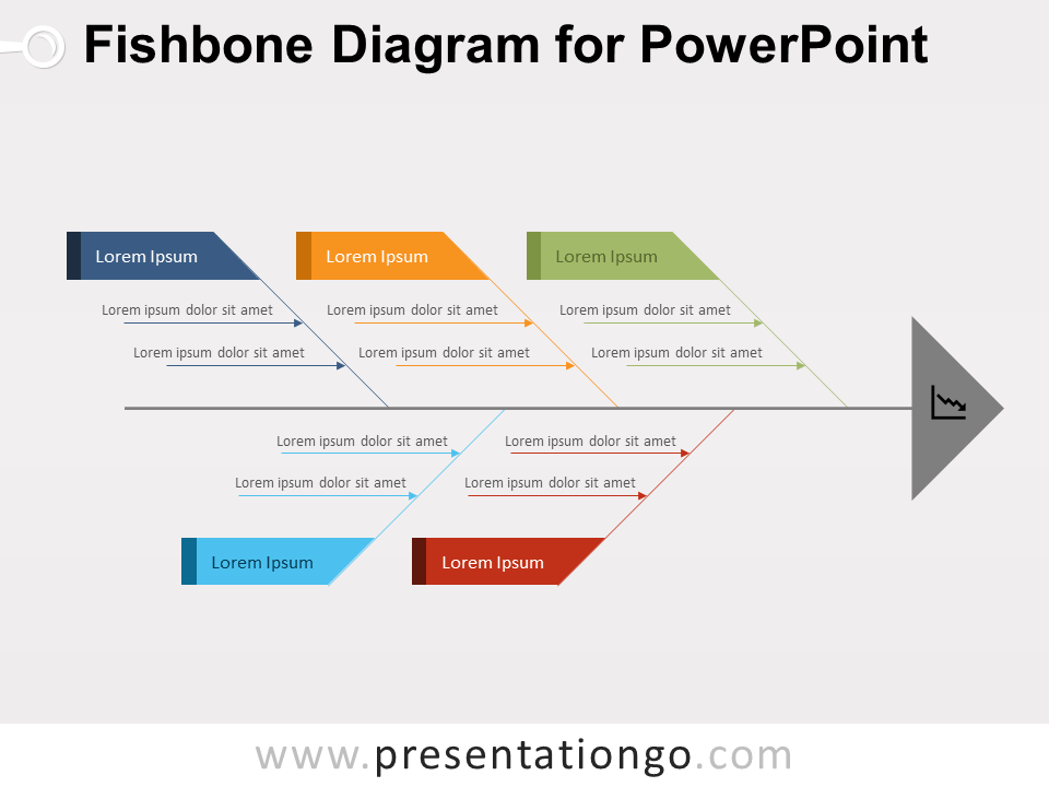 Fishbone Ishikawa Diagram For Powerpoint Presentationgo