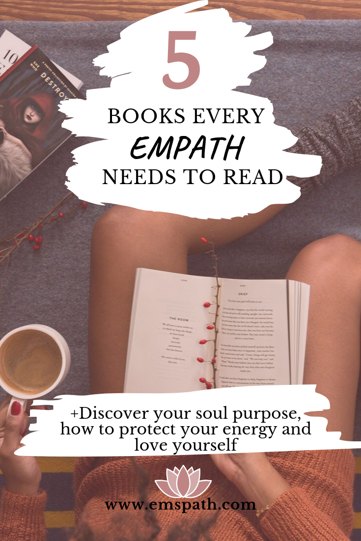 Books Every Empath NEEDS to Read #bookstoread