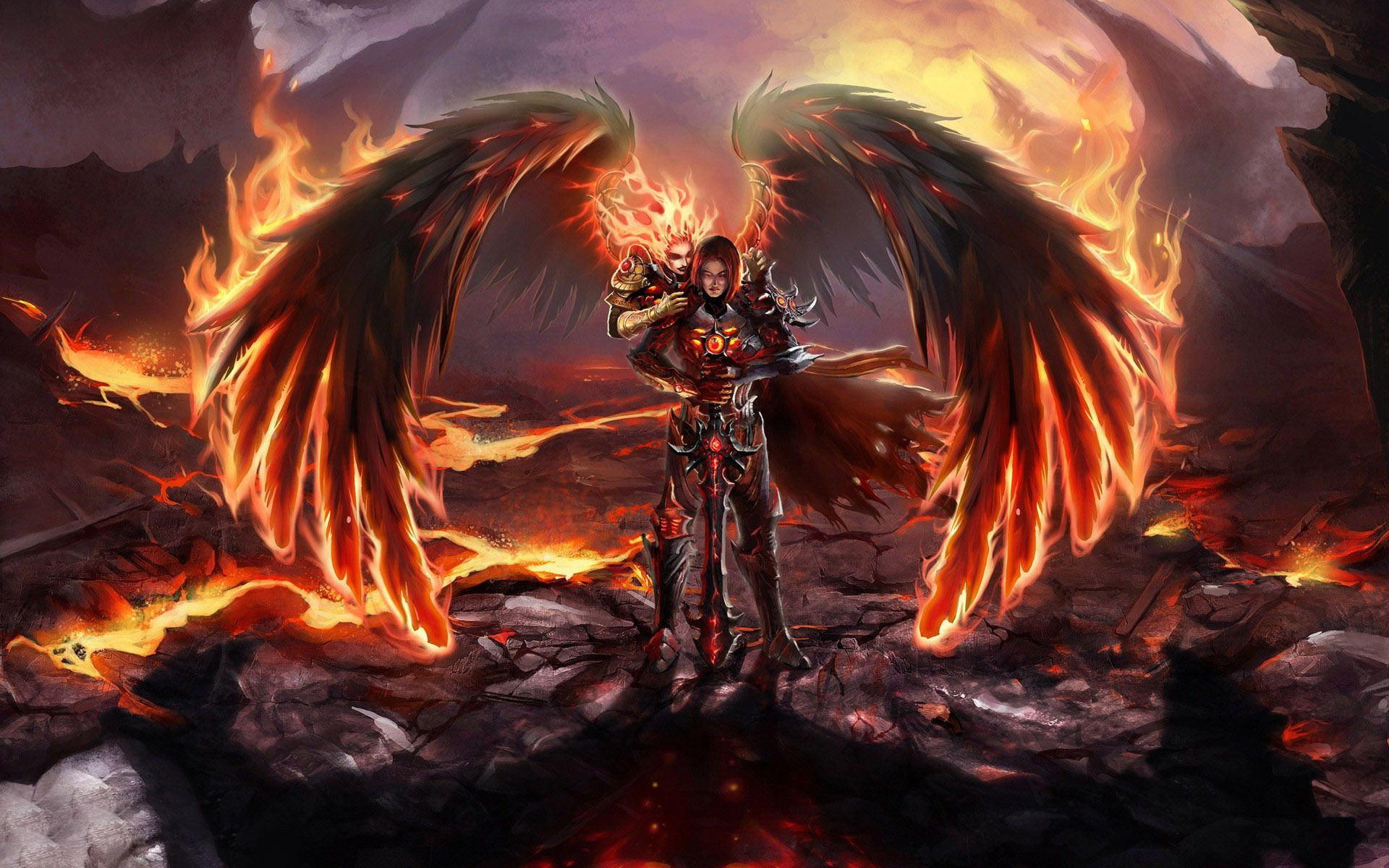 other wallpaper angel warrior - photo #31