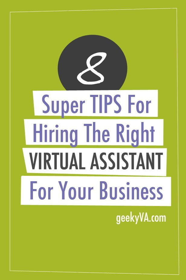 8 Tips For Hiring The Right Virtual Assistant For Your Business - office assistant job description