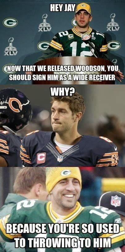 Photo of Hier ist der Charles Woodson zum Chicago Bears Meme