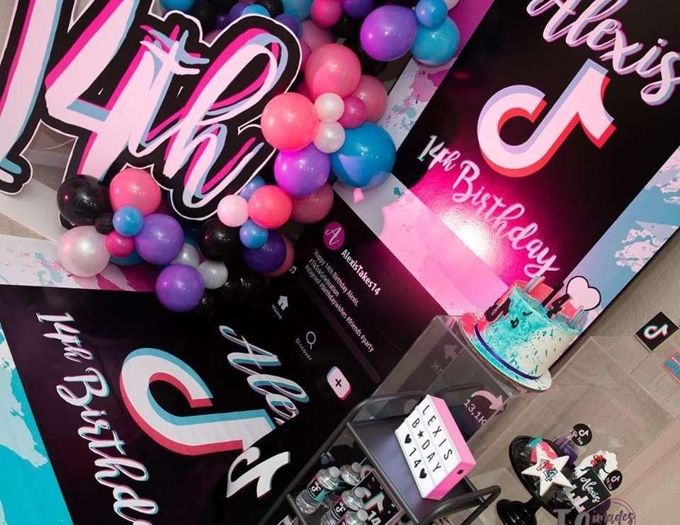 Pin On Girls Birthday Party Ideas
