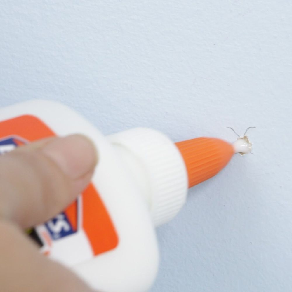 The Easiest Way To Fill A Hole In Your Wall Fix Hole In Wall Hole In Wall Repair Fill Nail Holes