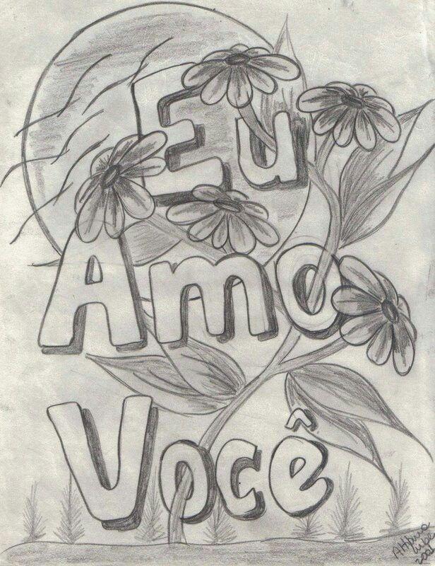 Eu Tenho Nas Maos Desenhos Romanticos Para Desenhar Desenhos De