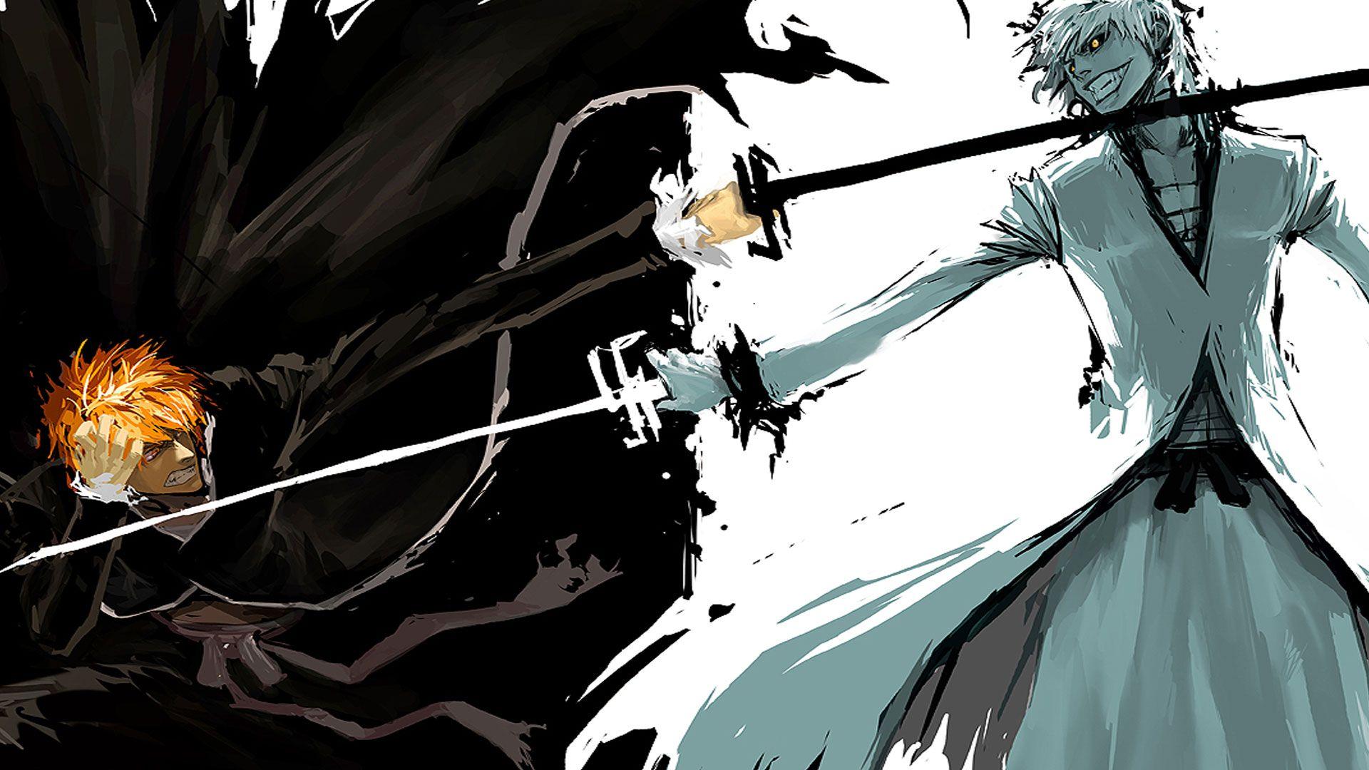 Wallpaper Kurosaki Bleach Ichig Papers Ichigo Hollow Anime Cool