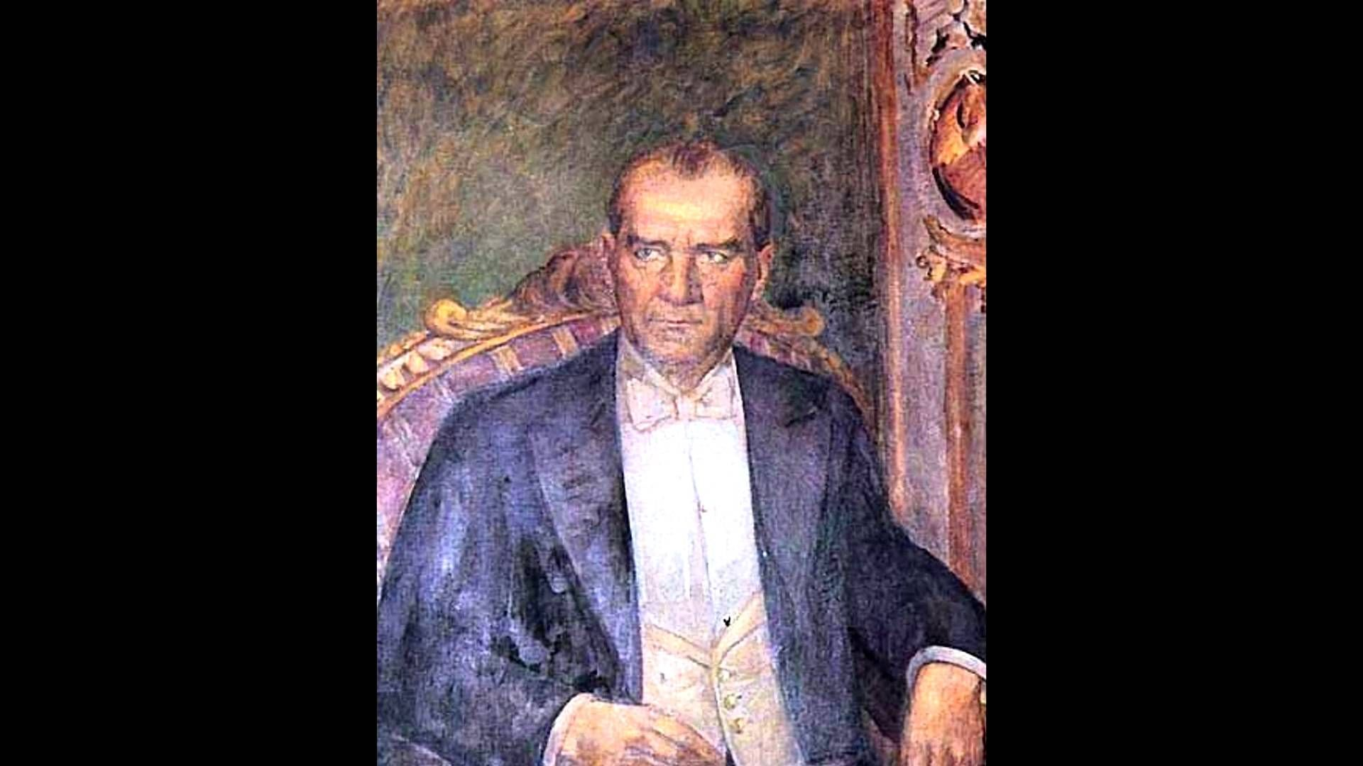 Ataturk Un Yagli Boya Portresini Yapan Ressamlar Portre Resim