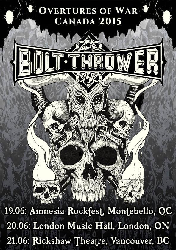 Bolt-Thrower tour 2015