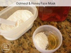 Oatmeal & Honey Face Mask for sensitive skin