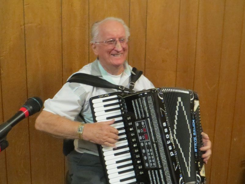Steve Balich Sr. (b. 1925 in San Francisco) may be one of the few people in the world who honestly can say his love for playing the accordion dates back to the Herbert Hoover Administration.  His passion for the squeezebox took hold in 1929 when he was a 5-year-old child in San Francisco but he didn't get the opportunity to pursue it until five years later in 1934.