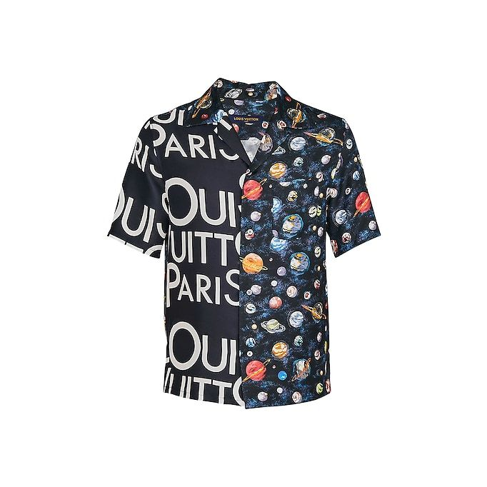 6faeb4a2bb67 View 1 - Split Hawaiian LV Galaxy Shirt in Men s Ready to Wear All  Collections collections by Louis Vuitton