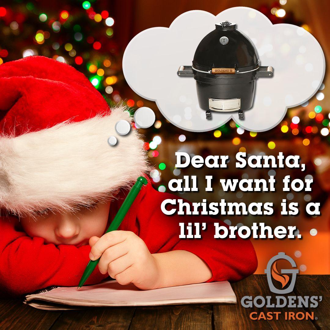 Awww! #GetYouSomeGoodness! 🎁🎄  #GoldensCastIron 14 inch