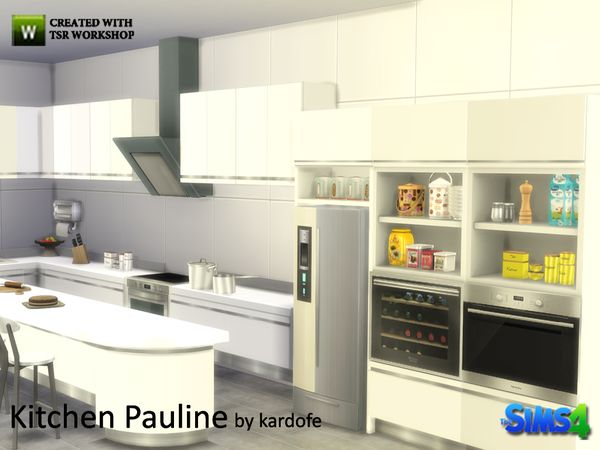 The sims resource kitchen pauline by kardofe sims 4 for Kitchen ideas sims 4