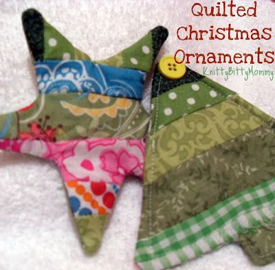 Quilted Christmas ornaments tutorial | Only Ornaments | Pinterest ... : quilted xmas ornaments - Adamdwight.com