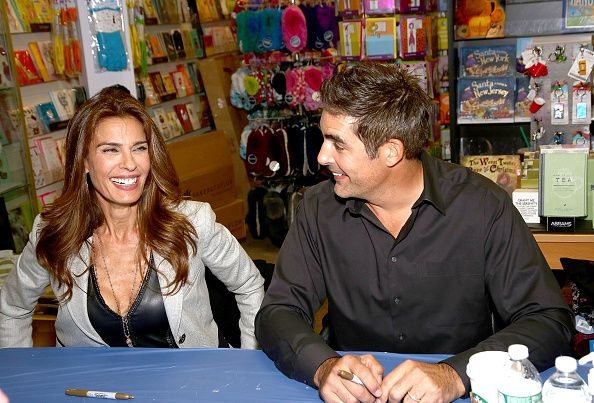 Actors kristian alfonso and galen gering attend days of our lives actors kristian alfonso and galen gering attend days of our lives book signing books and greetings in northvale nj on october 27 2015 in northvale m4hsunfo