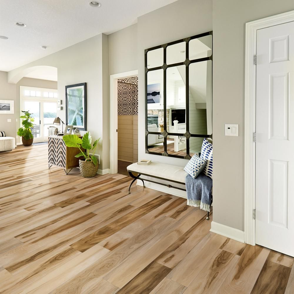 CALI Vinyl Pro With Mute Step Huntington Hickory 7.25 in