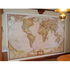 National geographic executive world map wall mural amazon boy national geographic executive world map wall mural amazon gumiabroncs Gallery