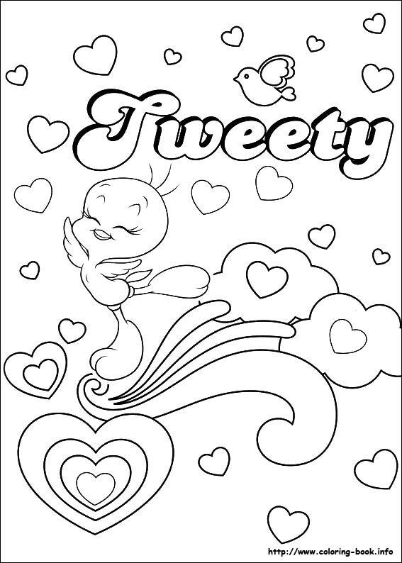 Tweety coloring picture | Pintura - Tweety | Pinterest | Color ...