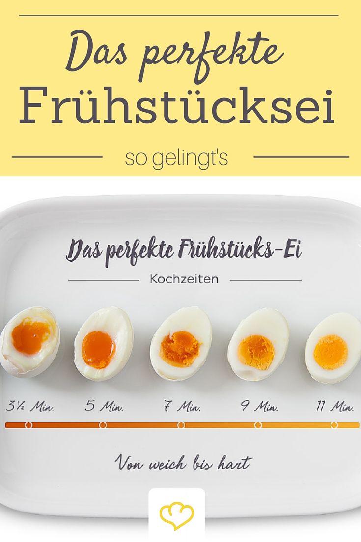 Eier kochen diese 9 dinge solltest du beachten recipe pinterest eier kochen essen und - Eier kochen wachsweich ...