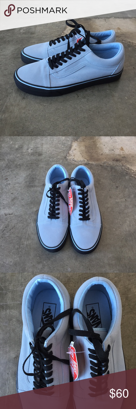 bed5eb2d584111 Vans x UO  Old Skool  light sky blue w  black sole Brand new with tags!  Rare